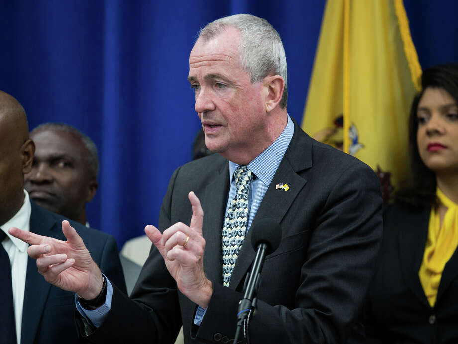 Phil Murphy, governor of New Jersey, speaks during a budget press conference in Newark, New Jersey, U.S. Bloomberg Photo: Photographer: Alex Flynn/Bloombe / Bloomberg
