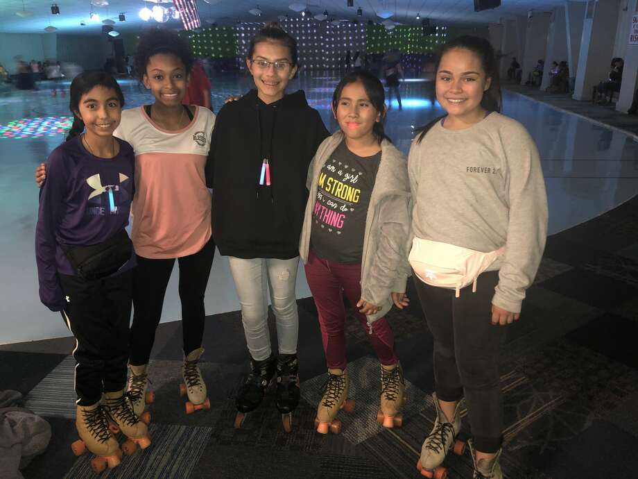 KC Nutty Roller: Malyah Carrillo, from left, Alicia Ochoa, Avery Ochoa, Lauren Yharte and Mia Clemmer Photo: Courtesy Photo