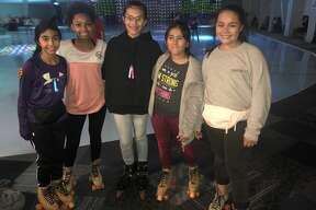 KC Nutty Roller: Malyah Carrillo, from left, Alicia Ochoa, Avery Ochoa, Lauren Yharte and Mia Clemmer