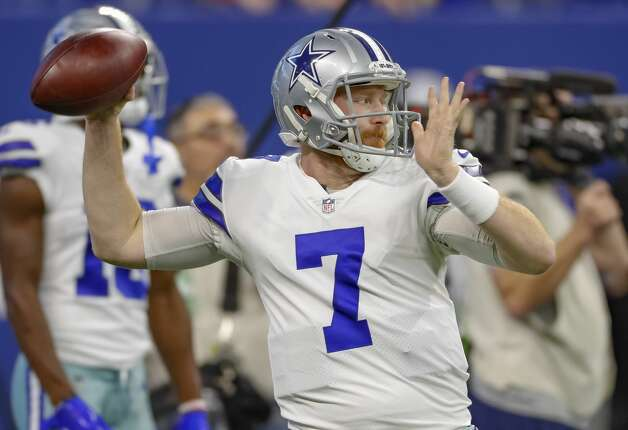 Cooper Rush, quarterback 2018 base salary: $555,000  Contract: 3 years, $1.67 million ($5,000 guaranteed) Can become restricted free agent after 2019 season. Photo: Michael Hickey/Getty Images