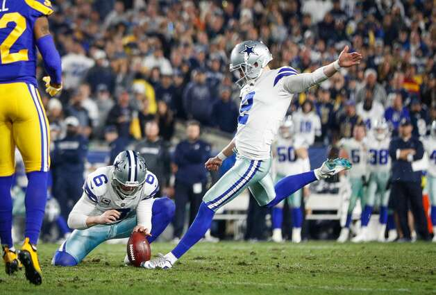 Brett Maher, kicker 2018 base salary: $480,000  Contract: 2 years, $1.05 million Can become an exclusive rights free agent after 2019 season. Photo: Meg Oliphant/Getty Images