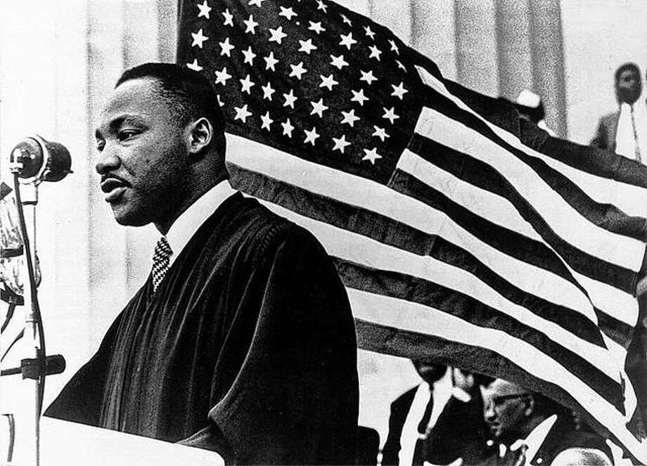 The Rev. Martin Luther King Jr. speaks on Jan. 1, 1960 in Washington D.C. King was tragically assassinated on April 4, 1968 at the Lorraine Motel in Memphis, Tenn. Photo: Keystone Pictures USA | Zuma Press/TNS