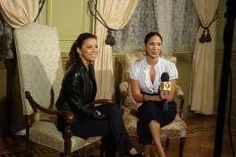 2009: Former WOAI/FOX traffic anchor Vanessa Gallegos
