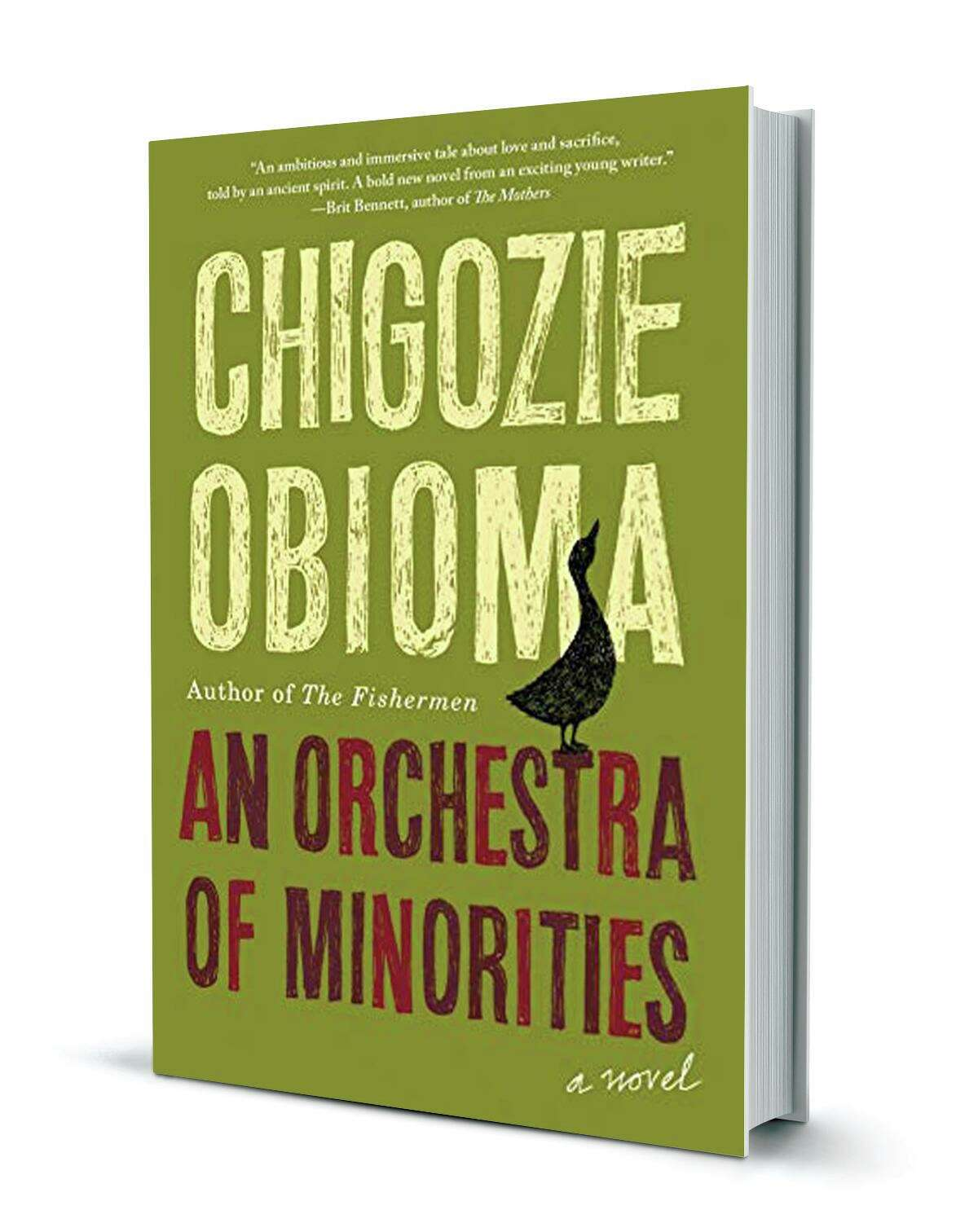 Author Chigozie Obioma published his second novel, An Orchestra of Minorities, in 2019