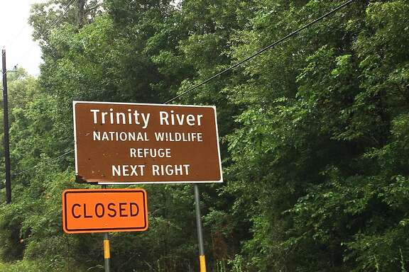 The Trinity River National Wildlife Refuge offices are closed, but the park is open where it is accessible. The park is closed in the Champion Lake area because of the closure of CR 417 on the federal end of the road.