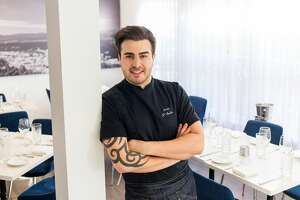 Top Chef France 2015 finalist Kevin D'Andrea takes over the kitchen helm at La Villa in Montrose.