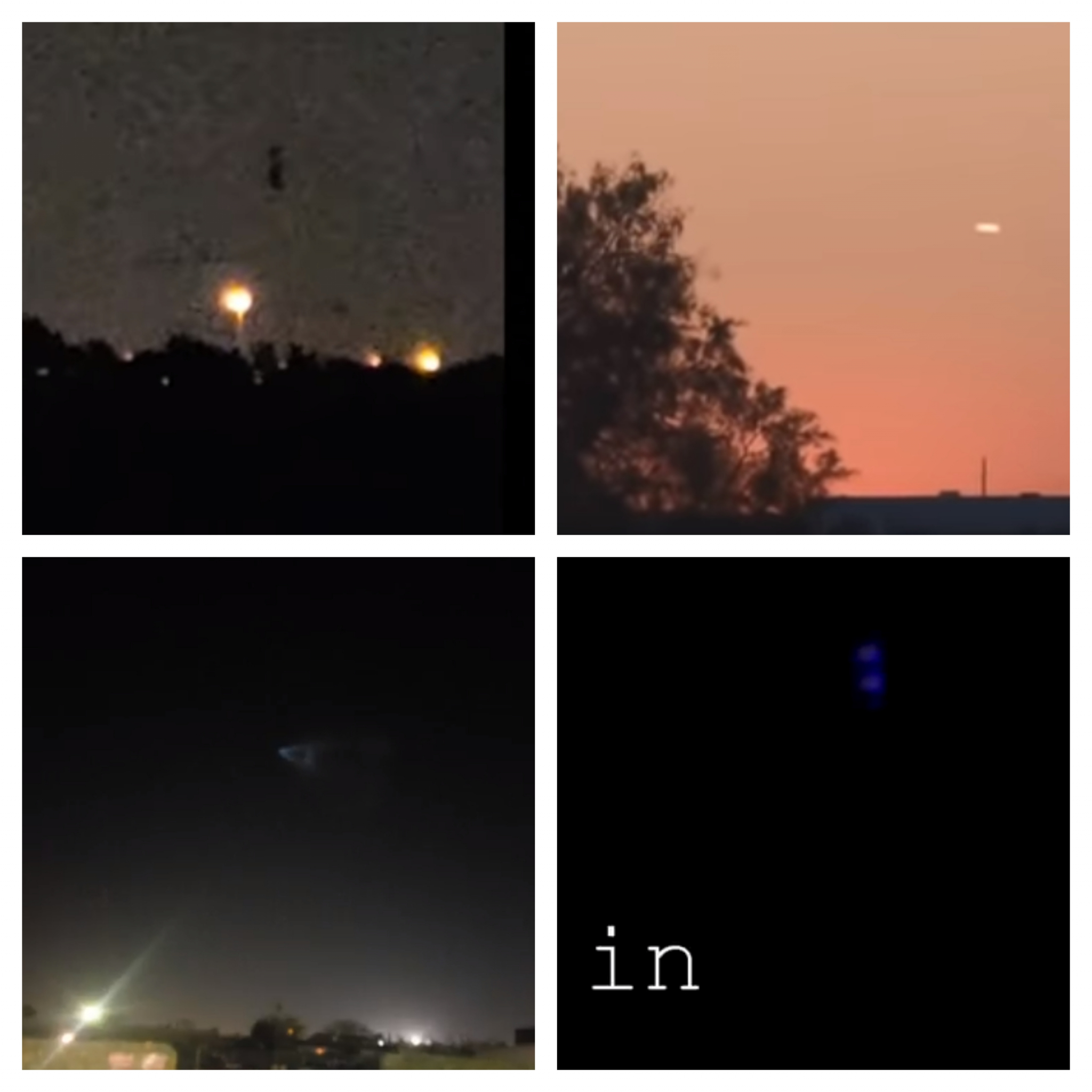 aliens or hoaxes  more than 70 ufo sightings reported in