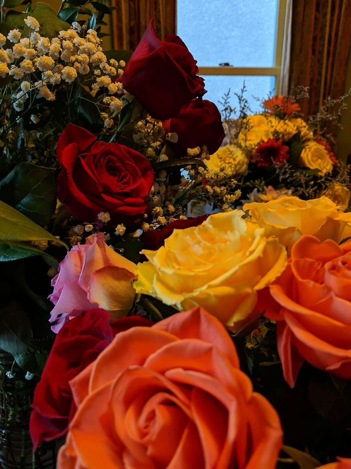 One of the bouquets received by Greg Scanlan and Brad Althoff on their wedding day.