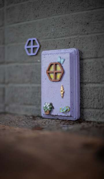What's up with the fairy doors all around Healdsburg