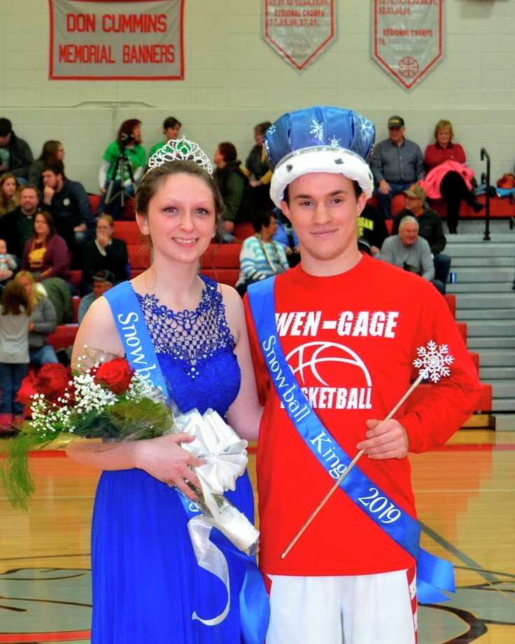 Pictured are Queen Jade Androl, daughter of Samantha and Eric Hunt, and King Cordell Clarkson, son of Brad and Amy Clarkson. (Submitted Photo)