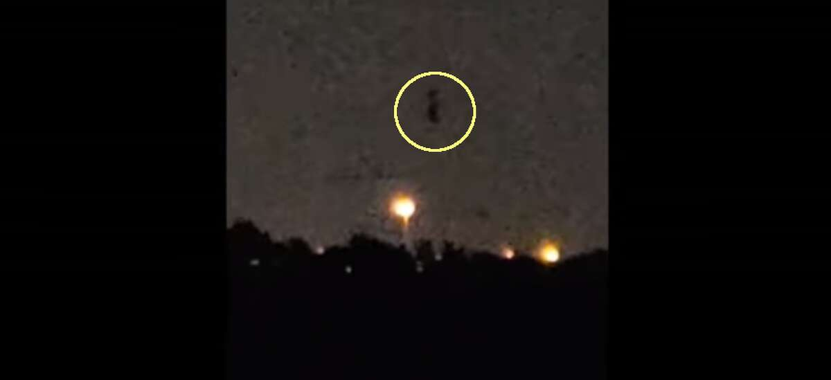Houston - May 2 Witness reported a tall black structure floating across the sky in central Houston. Watch video:https://www.youtube.com/watch?v=LC-MUXcwVoM&t=68s