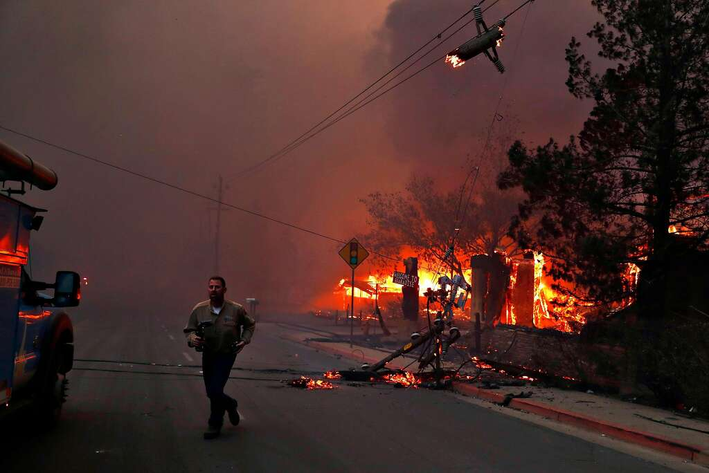 PG&E says its equipment is the 'probable' cause of deadly Camp Fire blaze