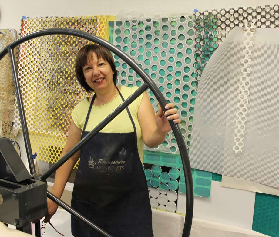 Houston's own Orna Feinstein will lead a Printmaking Workshop at the J on Jan. 23. Photo: Courtesy Photo
