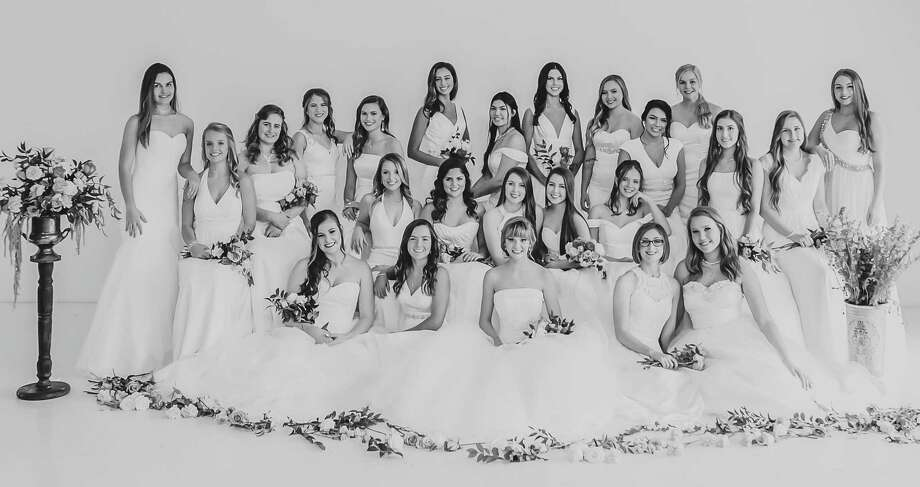 The National Charity League Inc. Star Chapter will honor the Senior Class of 2019 at a Feb. 17 Senior Recognition Ceremony at the Sugar Land Marriott Town Square. Seniors are, from left, front row:Emily Egan, Isabella Wiik, Reagan Kallina, Bridget King and Jessica Grace Watson; middle row:Maci Winters, Rebekah Cornelius, Katherine Jensen, Samantha Jensen and Makenna Donahue; and back row:: Jasmine Perry, Annabel Rothwell, Summerlee Zavidny, Caitlin Black, Karsen Callicott, Avery Potts, Rebecca Chang, Emerson Rotta, Baelyn Jatzlau, Joselyn Delgado, Sarah White, Samantha King, Abigail Kainer and Avery Guinn. Photo: Kim Schaffer Photography / Kim Schaffer Photography