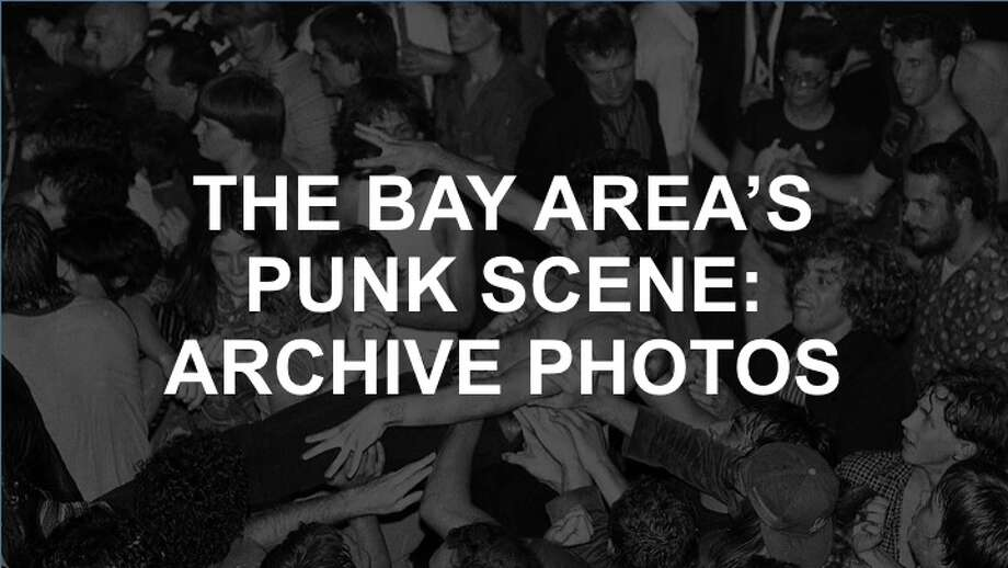 Check out the gallery for photos of the Bay Area's storied punk scene. Photo: Vici MacDonald / The Chronicle 1979