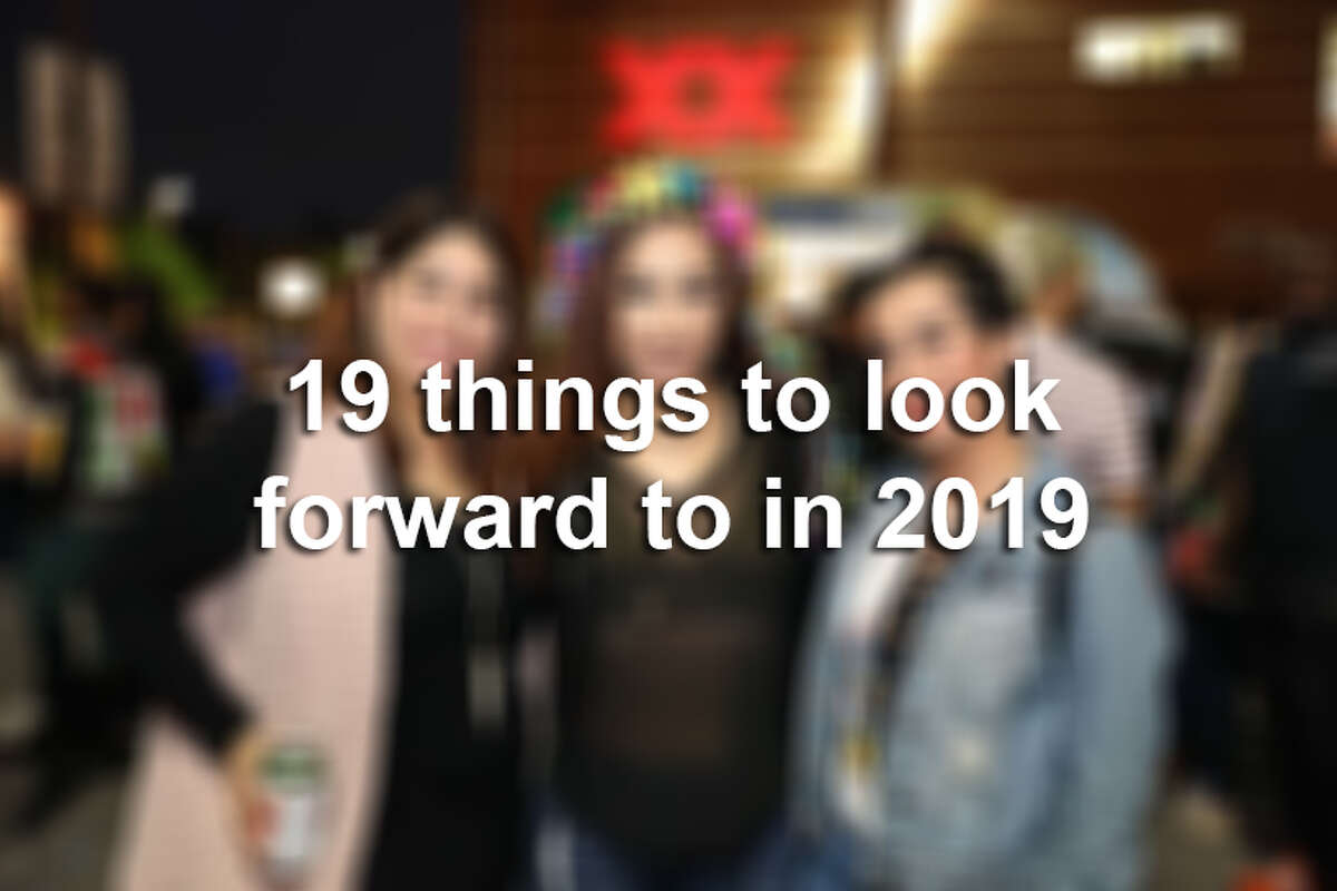 19 things to look forward to in 2019.