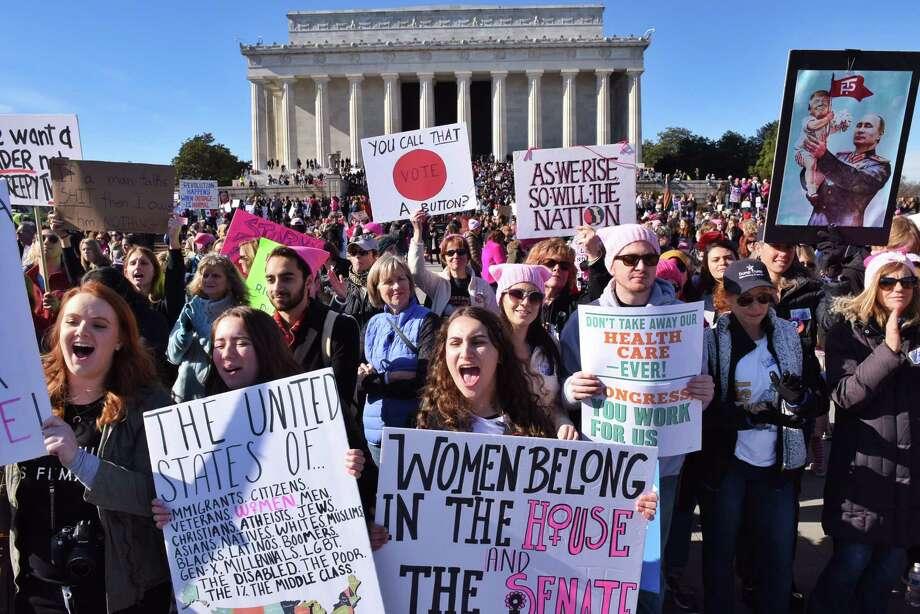 Women's March splinters over name