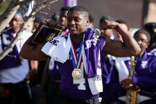 The force that is the the Newton Eagles were celebrated with a parade on Saturday. From local officials to teammates, parents and fans; smiles were plenty and the victory was celebrated.