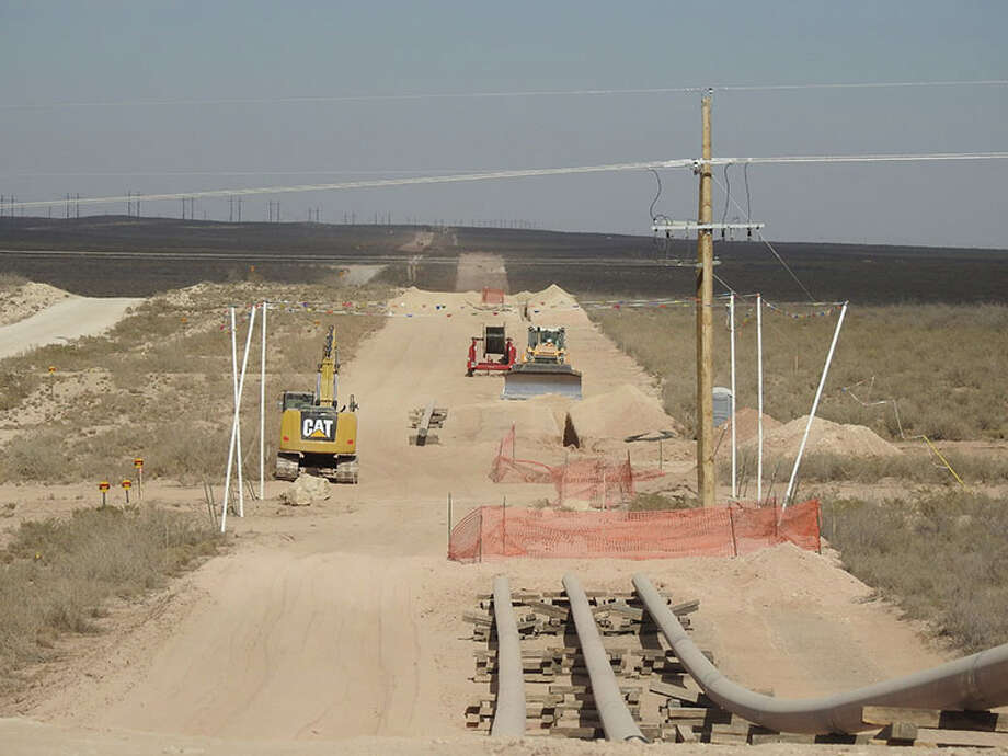 The EPIC Crude Oil Pipeline will extend from Orla,Texas to the Port of Corpus Christi. The project includes terminals in Orla, Pecos, Saragosa, Crane, Wink, Midland, Helena and Gardendale. The crude oil pipeline is expected to be in full service in early 2020. Photo: EPIC Midstream Holdings LP