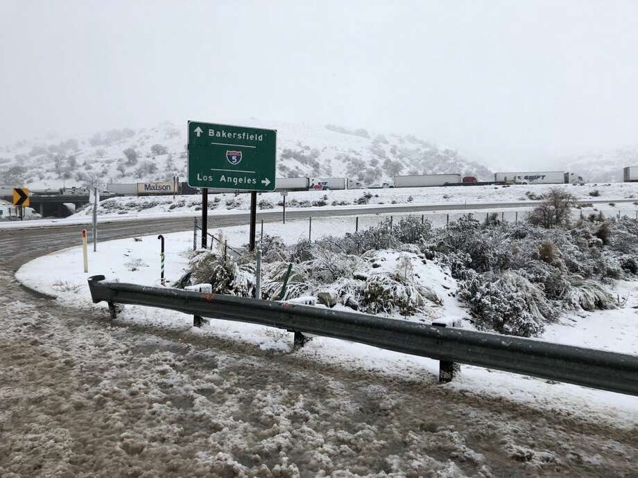 Rain and snow batter Southern California: Grapevine, PCH and Highway