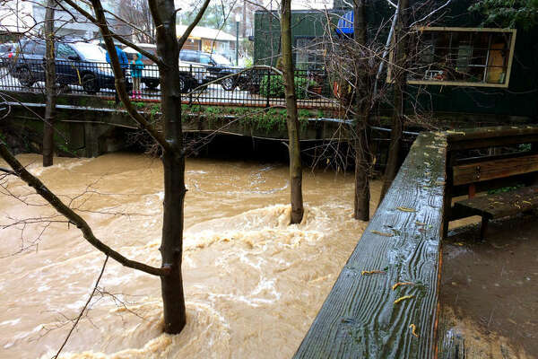 The removal of structures on downtown San Anselmo will likely reduce flood risk for neighbors.