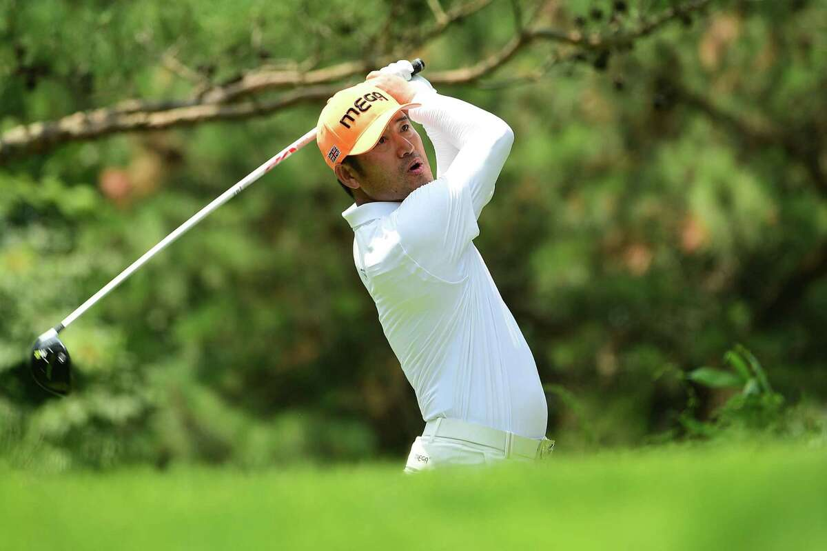 CHEONAN, SOUTH KOREA - JUNE 24: Choi Hosung of South Korea pictured during the final round of the Kolon Korea Open Golf Championship at Woo Jeong Hills Country Club on June 24, 2018 in Cheonan, South Korea. (Photo by Arep Kulal/Asian Tour/Asian Tour via Getty Images)