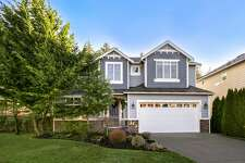 This four-bedroom in Thurston's Lacey has a main-floor master bedroom suite plus an office. The home is well-maintained on one of the largest lots in the neighborhood, with a kitchen and eating nook that opens to the living room, while the master bedroom has a five-piece bath and walk-in closet. 3622 Lanyard Dr. N.E., listed for $337,900. See the full listing here.