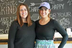 Newly opened Sleepy Rooster Cafe at 367 W. High St., in the Cobalt section of East Hampton, is a tiny breakfast spot that's gaining fans for its creative comfort food and socially conscious coffee. Owners, twin sisters Ashley and Nicole Pizzoferrato, offer wholesome quick-service items six days a week.