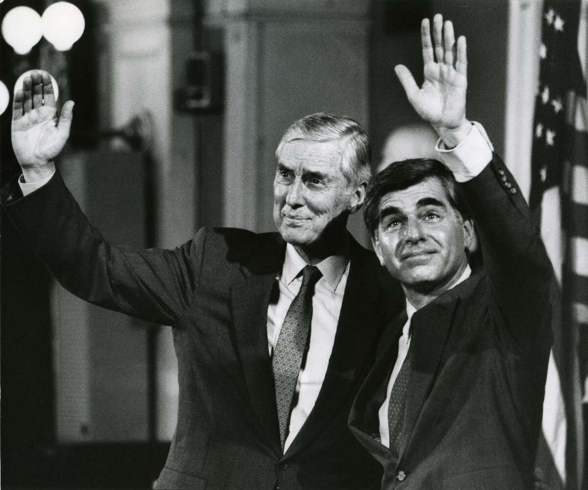 U.S. Sen. Lloyd Bentsen ran for vice president in 1988 and ran for president in 1976. (AP Photo/Elise Amendola, File)