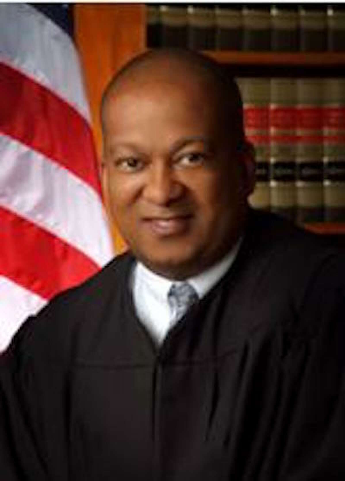 Justice Jeffrey Johnson of the Second District Court of Appeal in Los Angeles. California's judicial disciplinary agency has accused Johnson of sexually harassing and groping a fellow justice, harassing attorneys, court staff and a California Highway Patrol officer, and repeatedly appearing drunk in public.Johnson said Tuesday, Jan. 22, 2019 that accusations against him of groping a fellow justice and harassing other women in and around the courthouse are false and the other incidents were either misunderstood banter or outright fabrications. Johnson's response came through his attorneys in answer to complaints filed this month by the state Commission on Judicial Performance.