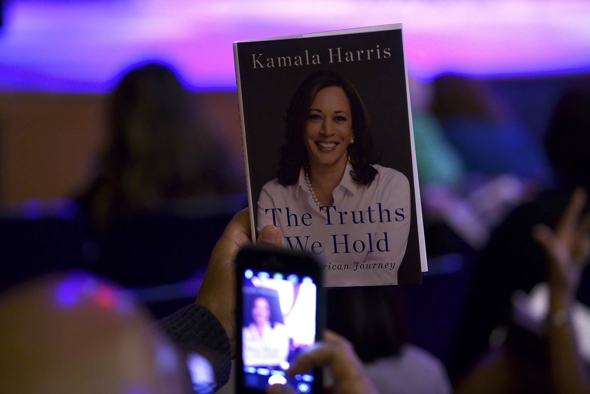 Are You Mentioned In Kamala Harris New Book Check The Index Sfchronicle Com