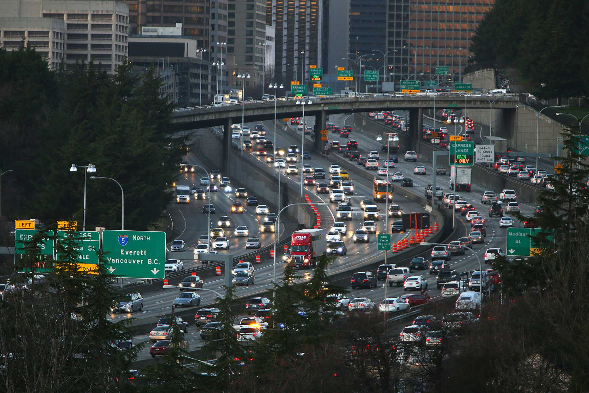Traffic roundup: How viaduct demolition and the Capitol Hill Block will affect your weekend