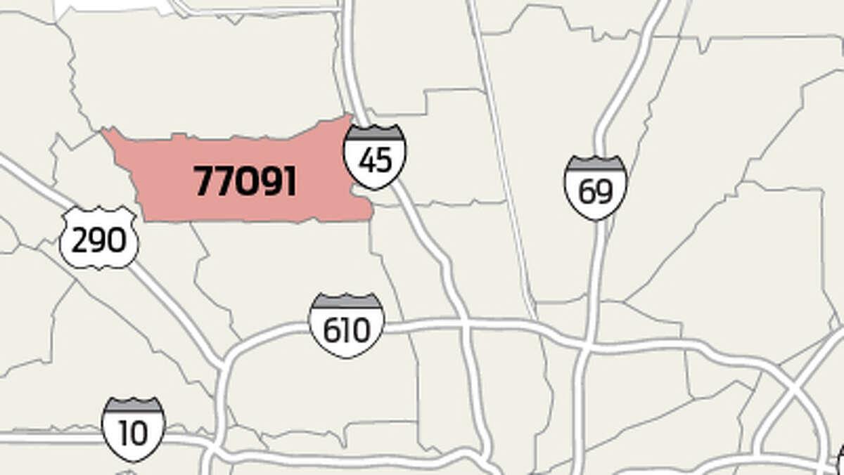 77091 Population estimate: 25,277 Homicide total since 2012: 38 Homicides per 10,000 people since 2012: 15