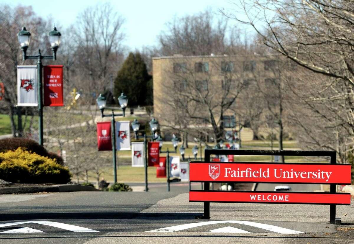 Fairfield University campus in Fairfield, Conn.