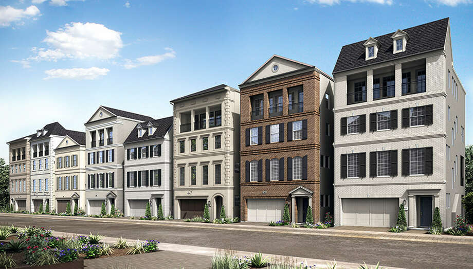 Darling Homes is introducing a new collection of homes that will allow buyers to mix and match floor plan levels into new three- and four-story homes at Somerset Green. Photo: Darling Homes /