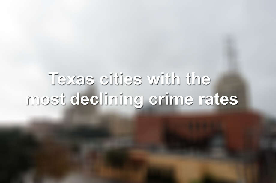 Keep scrolling to see how Texas cities ranked based on declining crimes rates per 100,000 residents from 2006 to 2016, according to a recent study by Security Choice. Photo: Michael Rivera