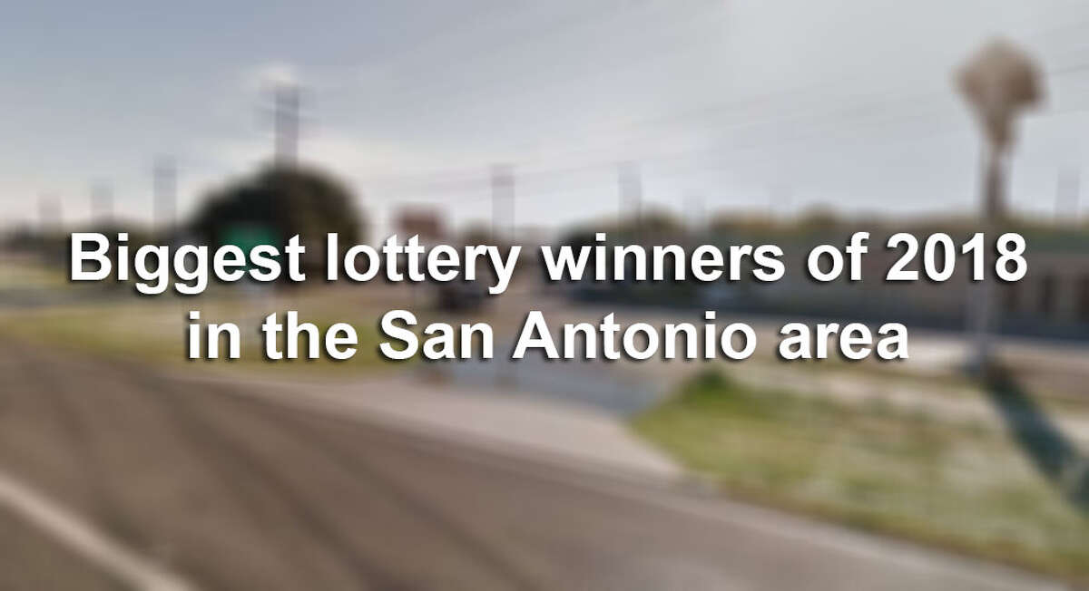 The lives of 13 San Antonio-area residents changed in the blink of an eye when they instantly won at least $1 million each playing the lottery in 2018. Click through the slideshow to see where, when and how much the luckiest San Antonio-area lotto players of 2018 won.
