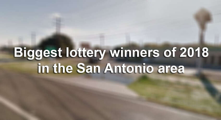 San Antonio-area's biggest lottery winners of 2018 - San Antonio