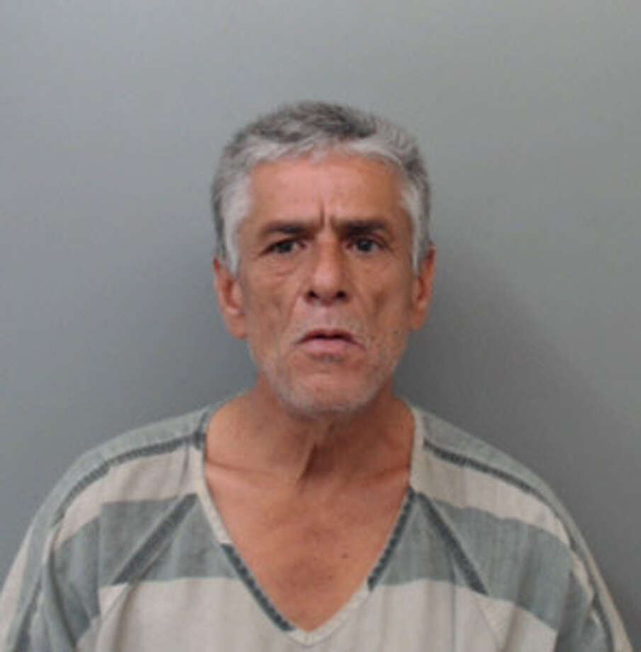 Juventino Almendarez, 60, was charged with assault on a public servant, criminal trespass and resisting arrest. Photo: Webb County Sheriff's Office