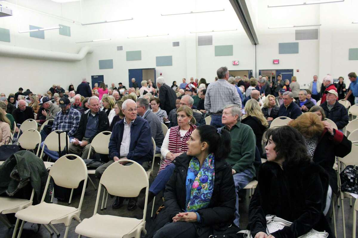 The Kingwood Community Center was filled with over 300 residents on Jan. 14, 2019 concerned about the Herons Kingwood Marina development proposed by Romerica Investments, LLC.
