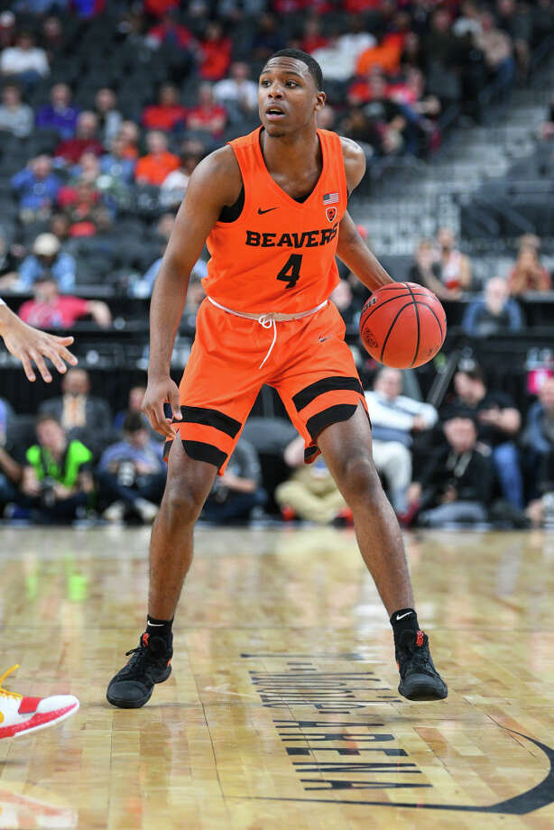 3. Oregon State Beavers (16-8, 8-4 Pac-12)The Beavers had a good week, smacking around their in-rival Ducks and securing the season sweep. They've now won four of their last five games, and by extension put themselves into position to secure good seeding in the Pac-12 Tournament. Photo: Icon Sportswire/Icon Sportswire Via Getty Images / ©Icon Sportswire (A Division of XML Team Solutions) All Rights Reserved