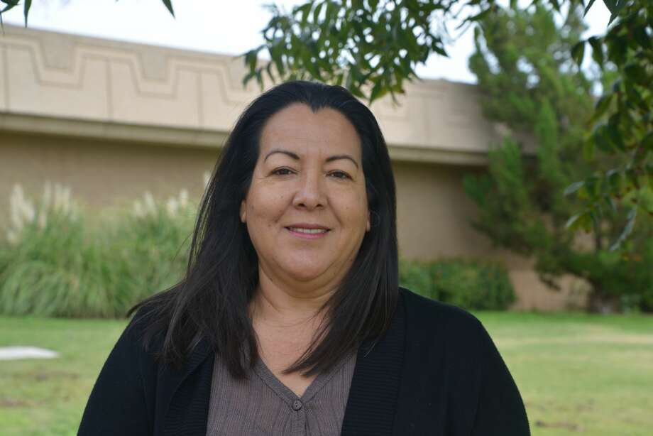 This past spring Candy Zuñiga became the first in her family to earn a degree. She graduated from Midland College with an associate of science degree. Now, Zuñiga's motivation is teaching her grandkids by example. Her granddaughter notices all her hard work. Photo: Courtesy Photo