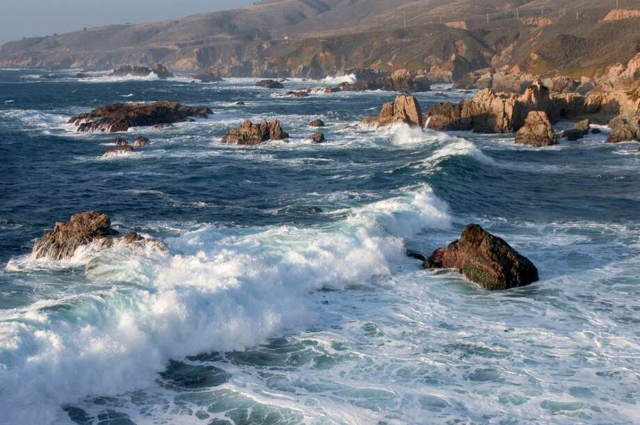 A Carmel teen is missing and feared dead after falling through a blowhole at  Garrapata State Beach (above) near Carmel, Calif. Photo: Education Images/UIG Via Getty Images