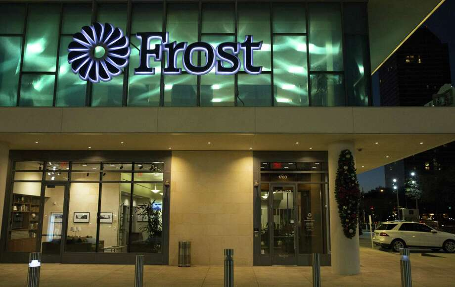 The Frost Bank branch at 1700 Post Oak Boulevard is photographed on Wednesday, Jan. 9, 2019, in Houston. Photo: Yi-Chin Lee, Houston Chronicle / Staff Photographer / © 2019 Houston Chronicle
