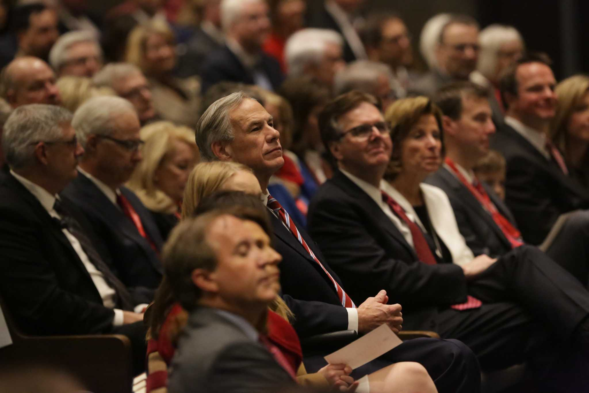 INAUGURATION DAY: Gov. Greg Abbott pushes for policy win in second term