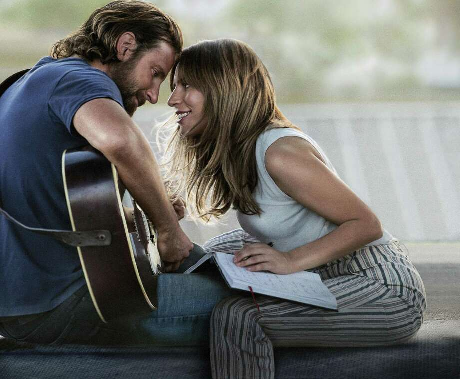 "Bradley Cooper and Lady Gaga make beautiful music in ""A Star is Born."" Photo: Warner Bros. / Warner Bros. Pictures"
