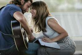 "Bradley Cooper and Lady Gaga make beautiful music in ""A Star is Born."""