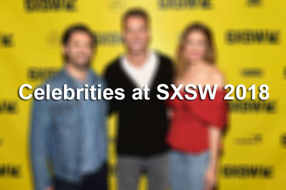 Take a look through the gallery to see which celebrities were spotted at SXSW 2018.