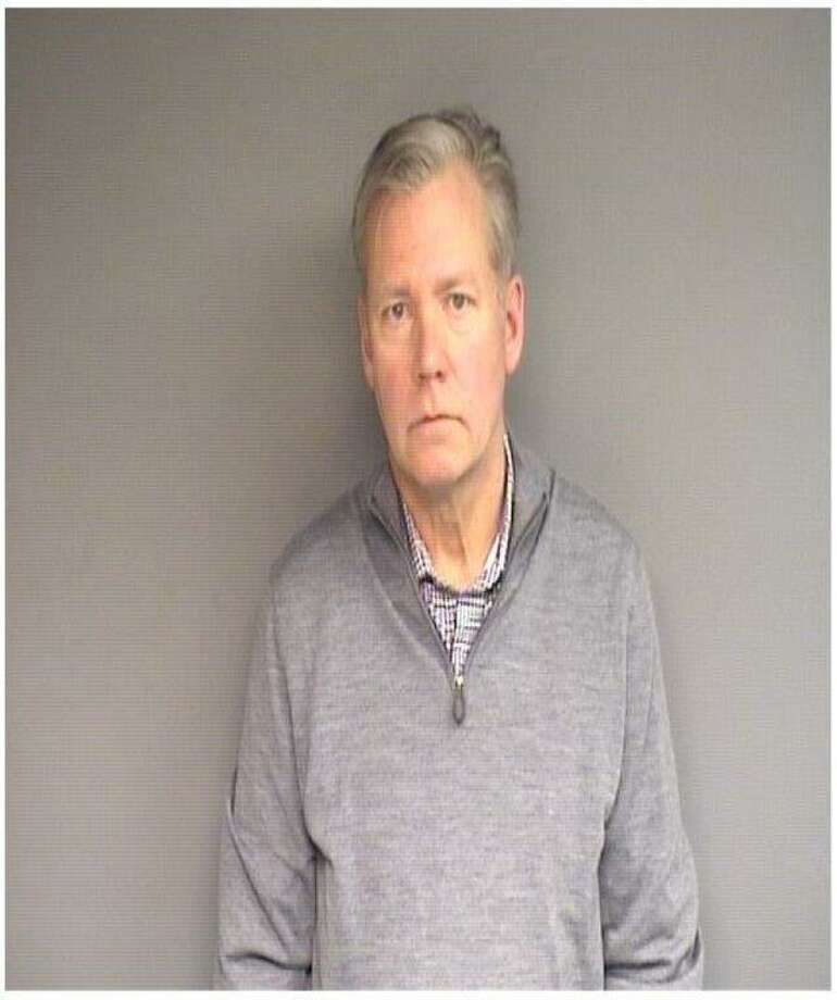 Television journalist Chris Hansen, 59, of Stamford, has been charged with issuing a bad check. Photo: Stamford Police / Contributed