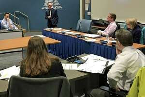 East Hampton Superintendent of Schools Paul K. Smith outlined his proposed budget to Board of Education members and the public this week.